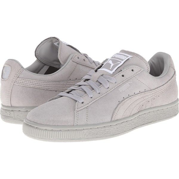PUMA Suede Classic Matt Shine Womens Shoes, Gray ($53