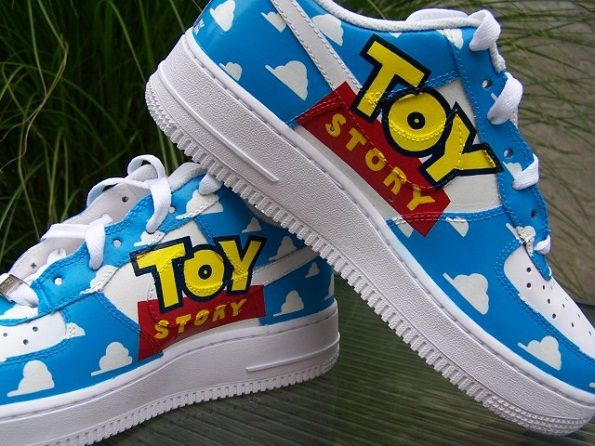 Air ShoesDisney's Force 1 Toy Nike By Custom Story jL5Aq3Rc4