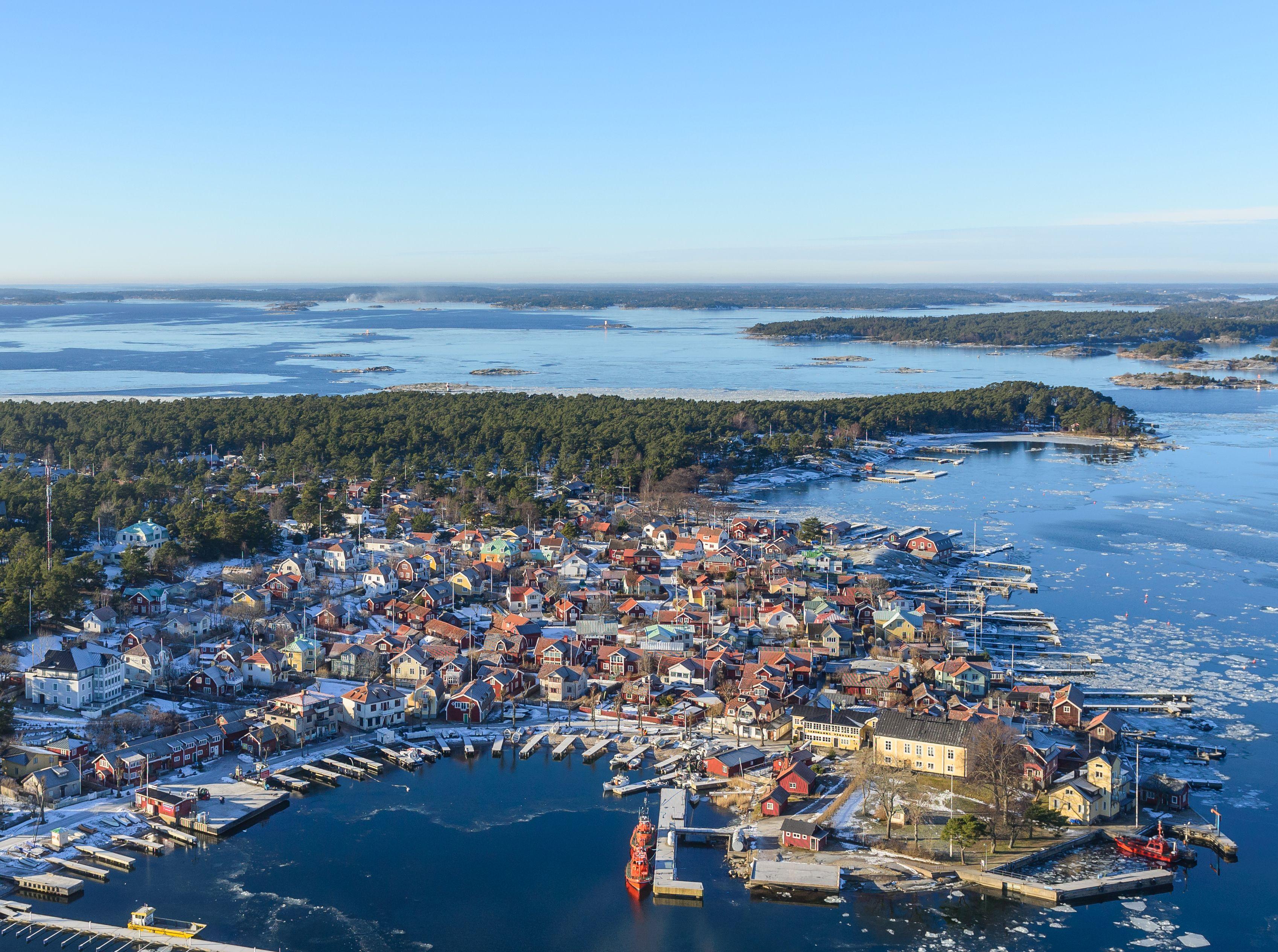 Sandhamn Sweden Schweden Reisen Fernweh