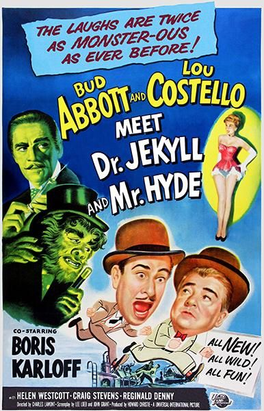 Abbott And Costello Meet Dr Jekyll And Mr Hyde 1953 Movie