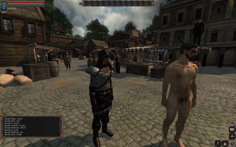 Online naked games