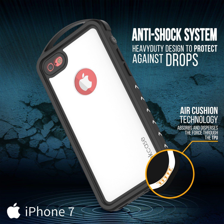big sale fe875 a1ea6 iPhone 8 Waterproof Case, Punkcase ALPINE Series, White | Heavy Duty ...