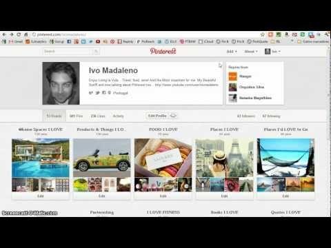Como fazer Pin de videos no #Pinterest