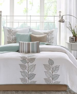 Madison Park Caelie 6 Pc Quilted Queen Coverlet Set Reviews