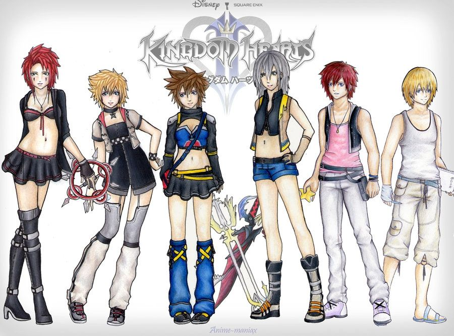 So much genderbend... OML IMAGINE THE WHOLE FREAKING ORGANIZATION XD