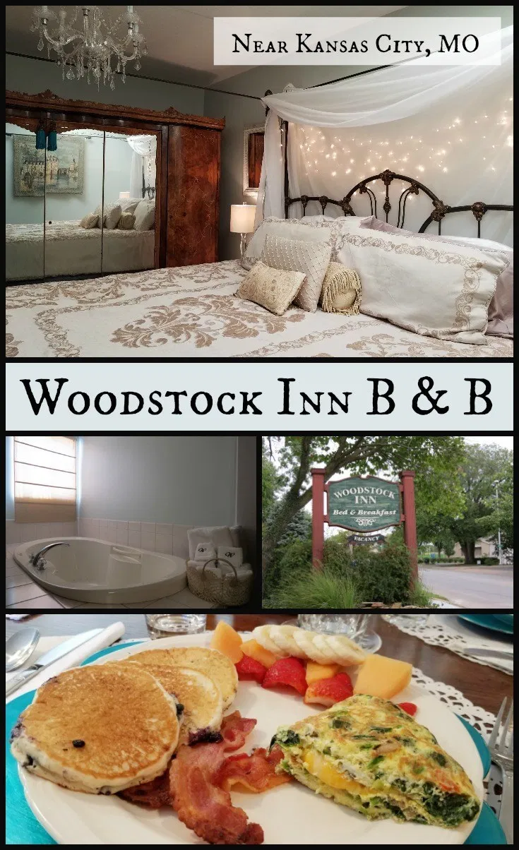 Woodstock Inn Bed & Breakfast near Kansas City Postcards