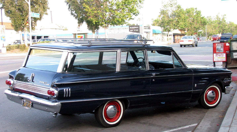1963 Mercury Comet Station Wagon Station Wagon Mercury Cars