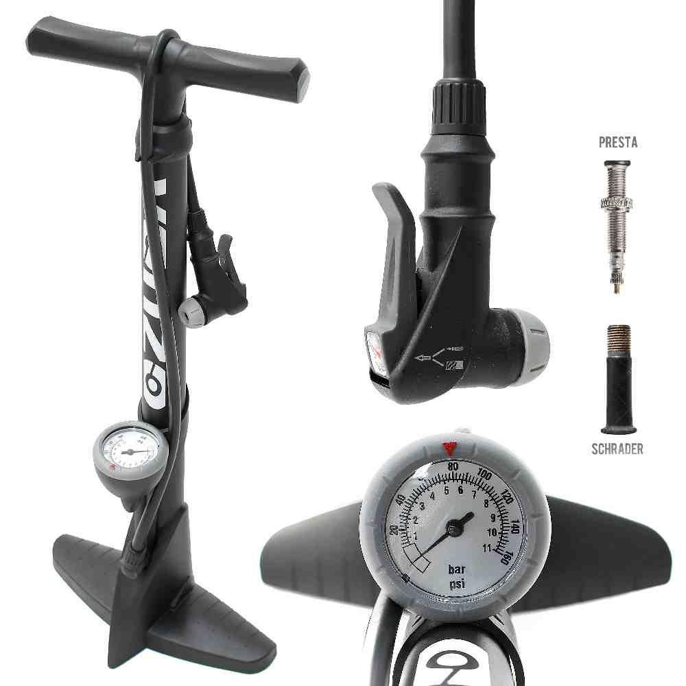 best bike pump with gauge