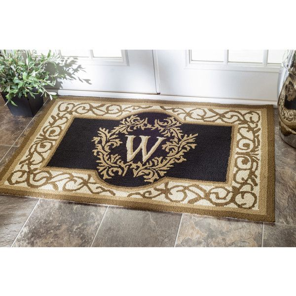 c roll larger over products view monogrammed williams monogram letter saved mats doormat zoom image to door single sonoma
