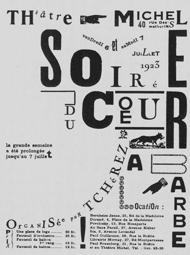 1918- Nasce una corrente artistica, il DADADISMO, con la pubblicazione del Manifesto Dada di Tristian Tzara