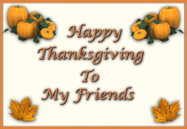 Happy Thanksgiving Month To All My Friends Greetingssmswishes