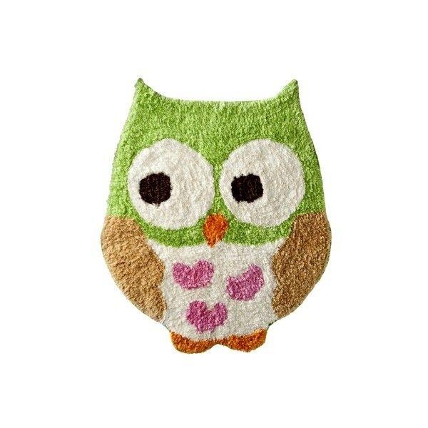 Circo Love n Nature Owl Bath Rug ($25) found on Polyvore | owls ...