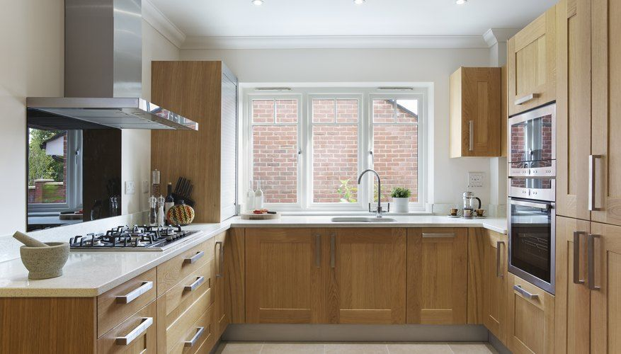 How to Restain Oak Cabinets in 2020 | Kitchen cabinet ...