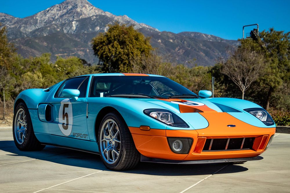 Available At Palm Beach 2019 Lot 725 1 2006 Ford Gt Heritage Edition Barrett Jackson Ford Gt Ford