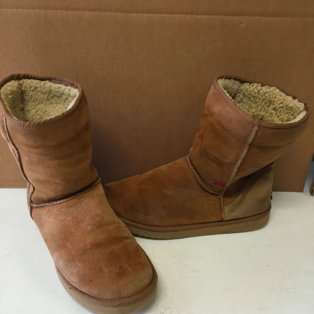 Ugg Womens Classic Short Boot 5825 Size 10 Chestnut Pre