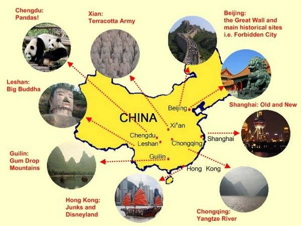 China landmark attractions