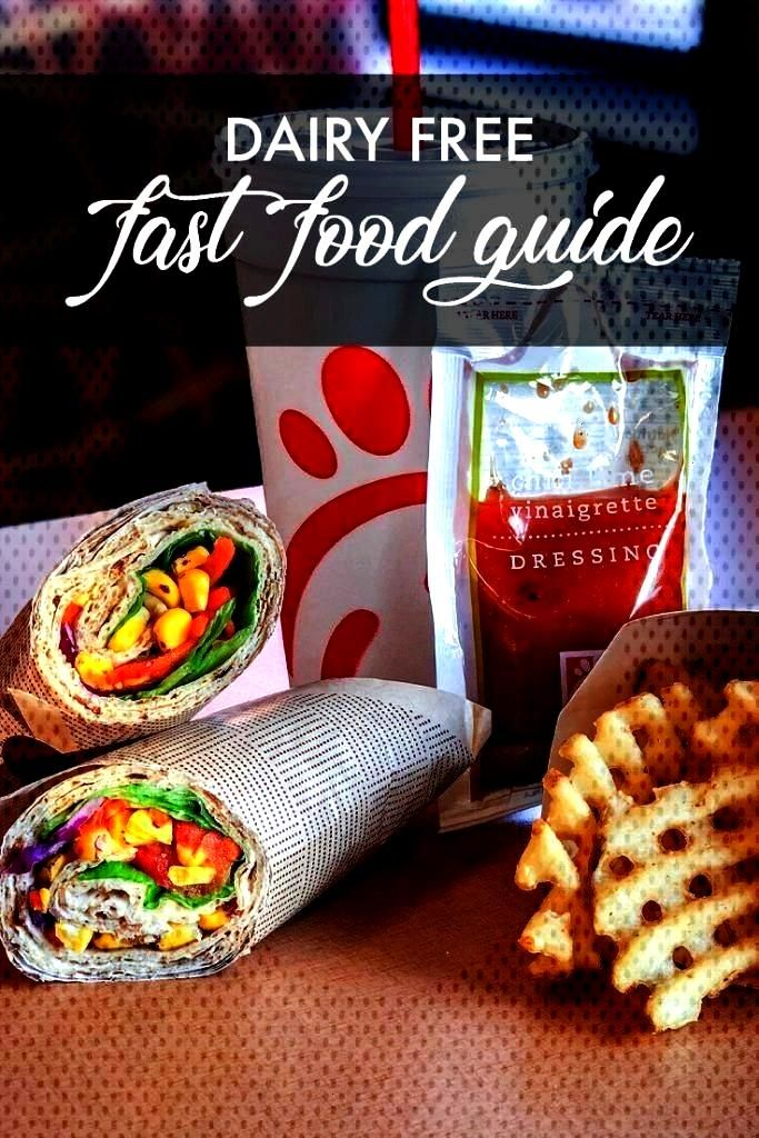 Fast Food Guide - Make It Dairy FreeDairy Free Fast Food Guide - Make It Dairy Free Easy oat milk