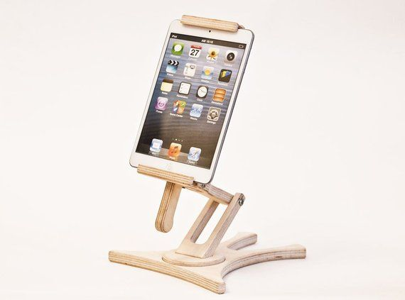 Awesome Tablet Holder Ipad Stand Kitchen Tablet Stand Wood Regulated Home Interior And Landscaping Palasignezvosmurscom