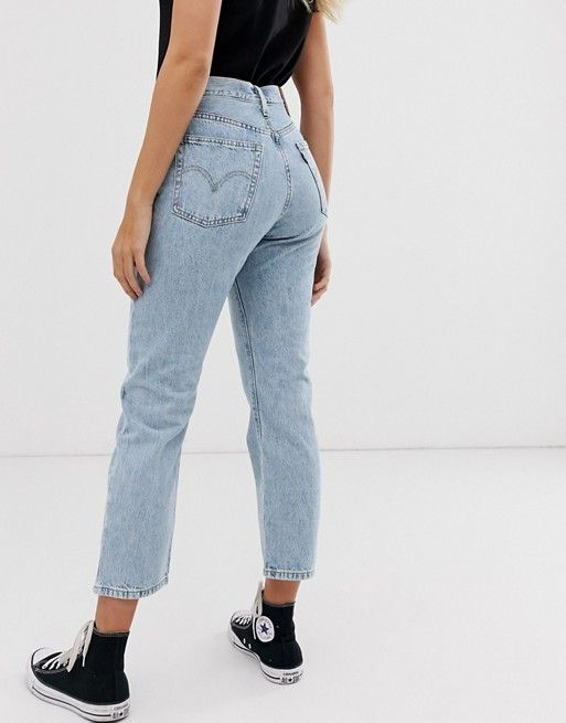 new authentic authentic official store Levi's 501 crop jean in lightwash in 2019   shopping list ...