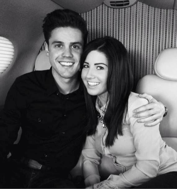 Christpher Osmond and girlfriend 2014