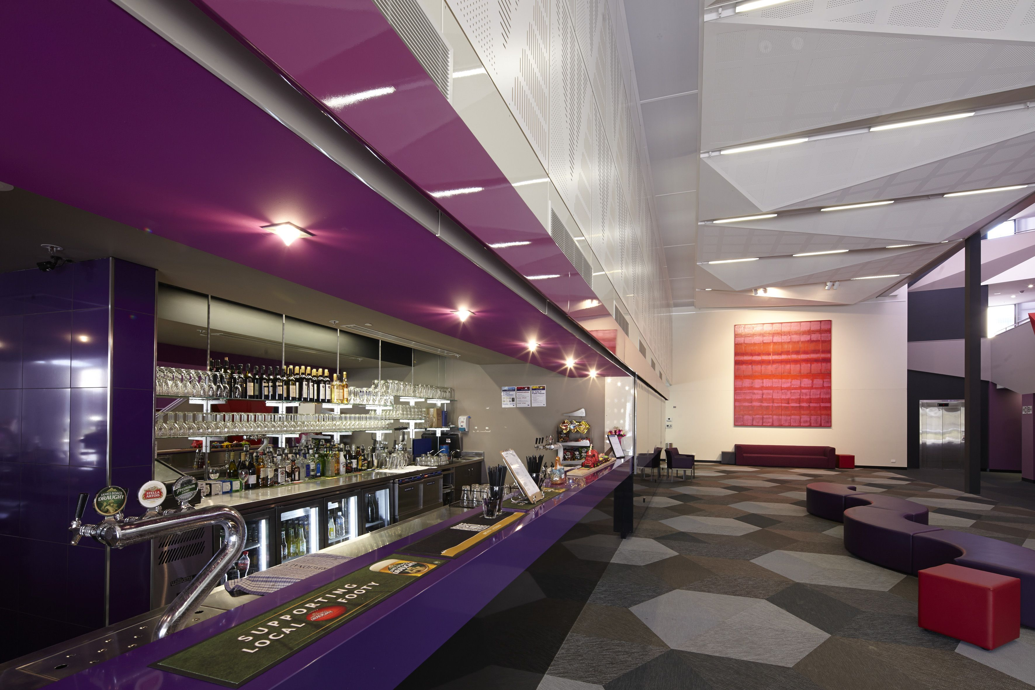 Foyer And Bar The Cube Wodonga Williams Ross