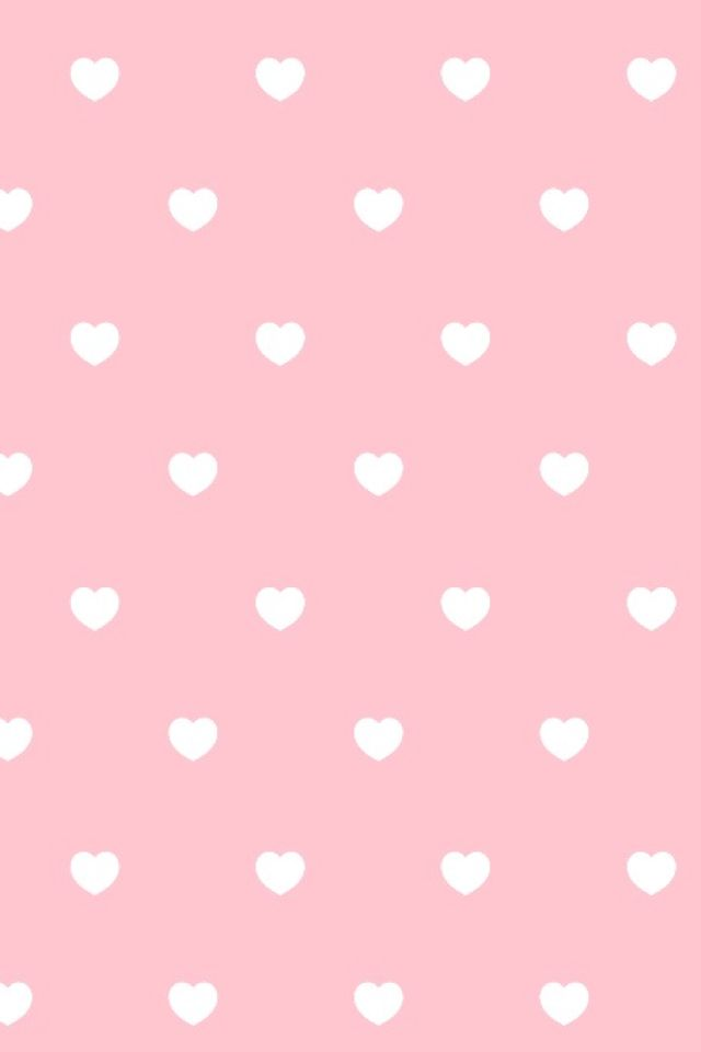 Pink and white hearts ...