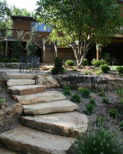 Stone Steps--recycle Your Old Concrete...