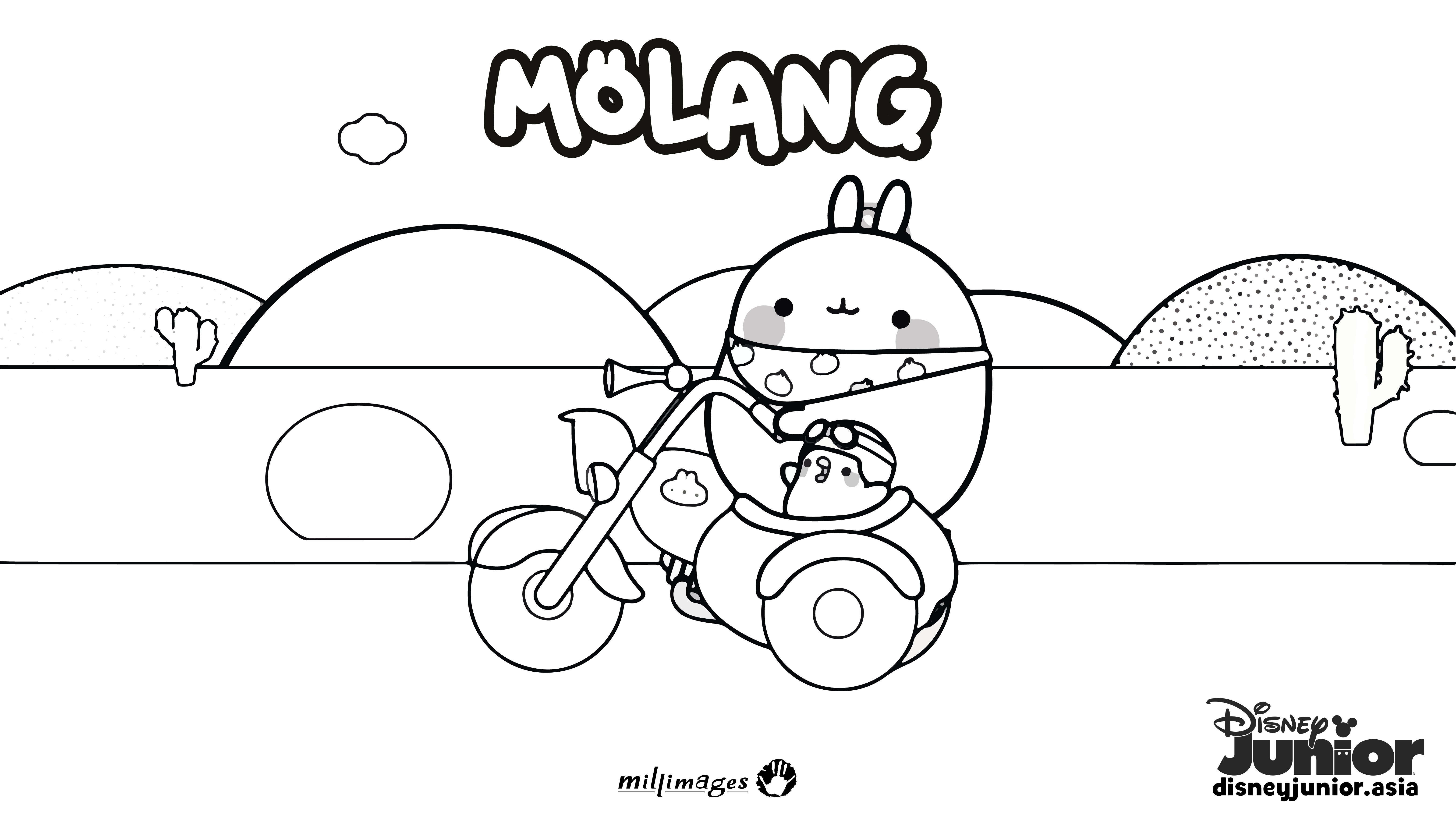 molang colouring page 2 coloring pages coloring