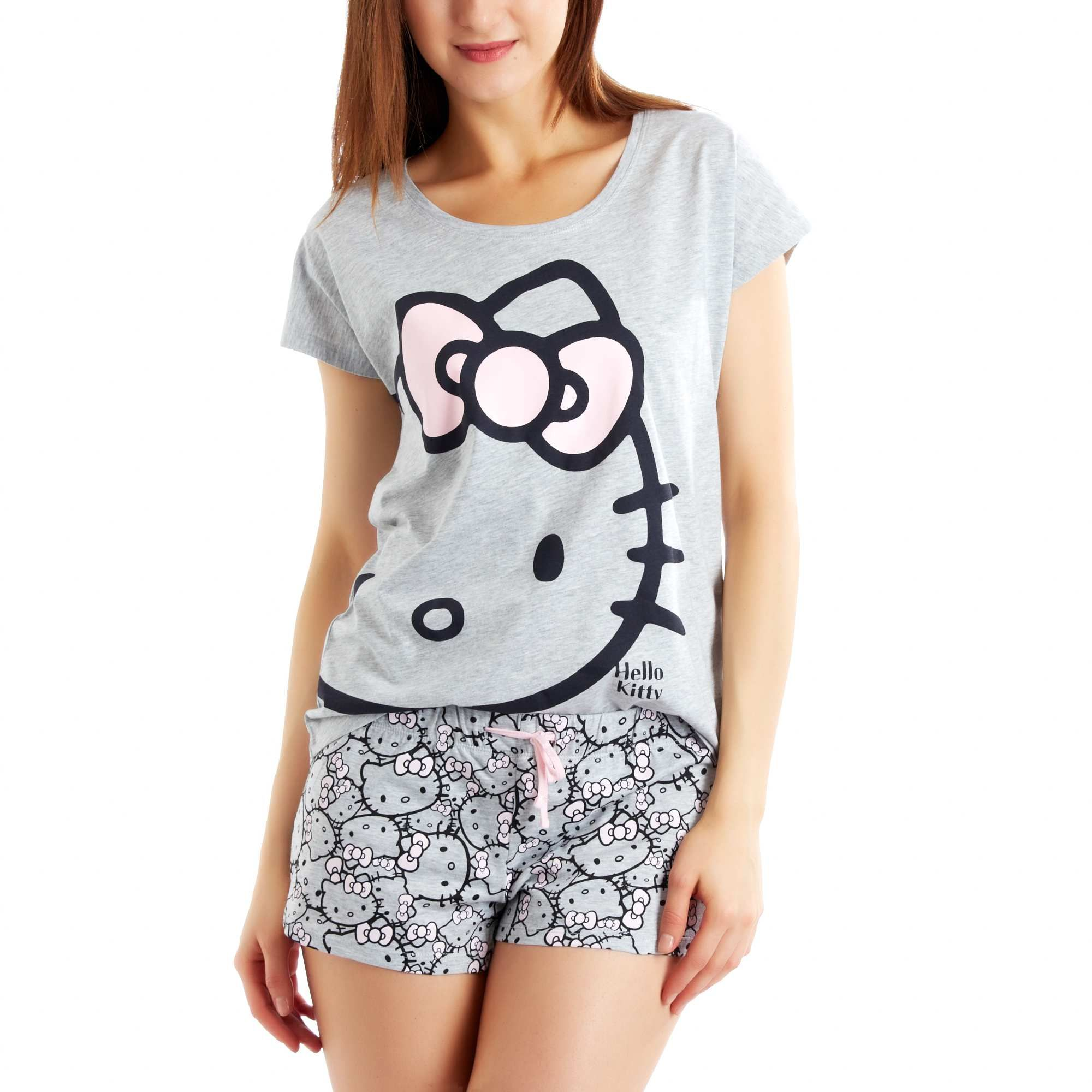 d5693cf7d Pyjama short 'Hello Kitty' blanc Femme | Hello Kitty | Hello kitty ...