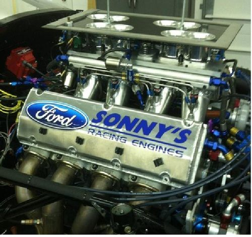 In Shop 2010 Mustang Build Sonny S 903 Ci Efi Ford Ford Racing