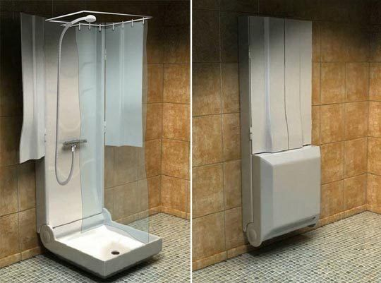 8 Cool Amp Compact Futuristic Showers In 2019 Architecture
