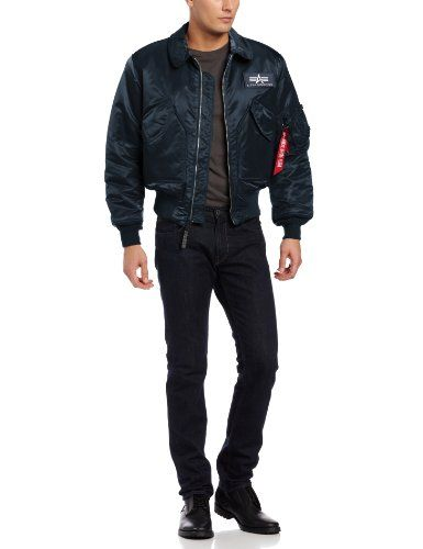 Alpha Cwu 45P Flight Jacket Medium (Black) The CWU 45P is
