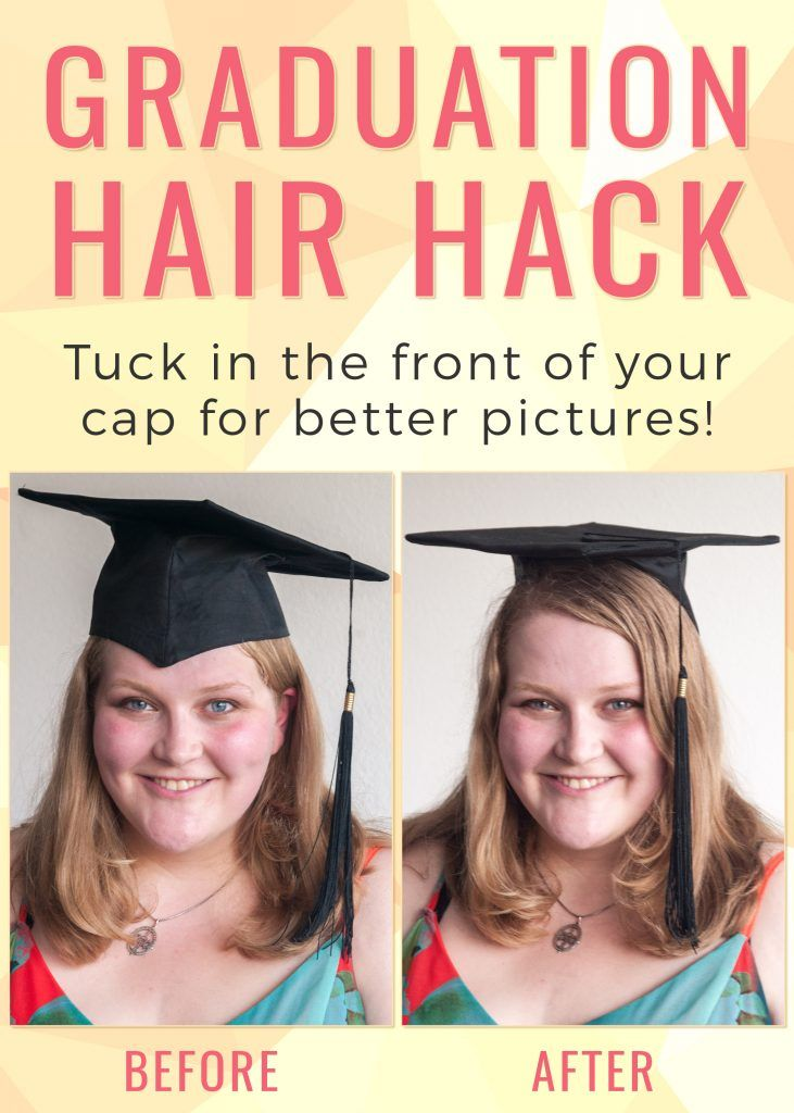 New Cap and Gown Hairstyles