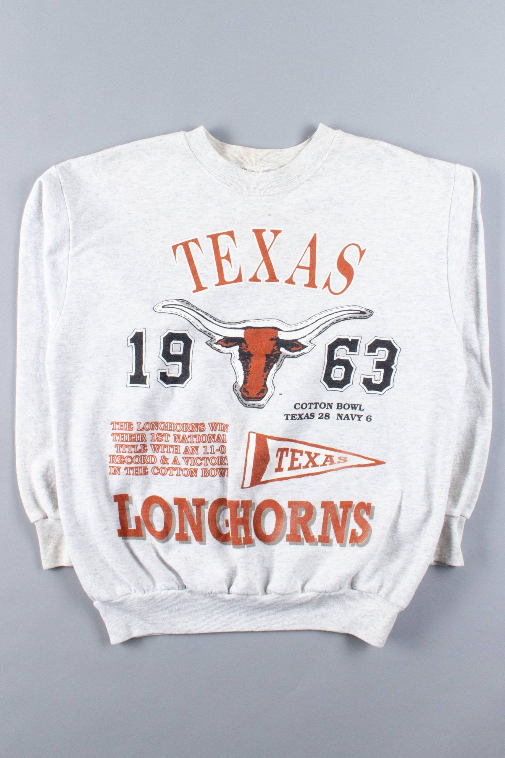 Texas Longhorns 1963 National Champions Sweatshirt Ragstock Champion Sweatshirt Sweatshirts Vintage College Sweatshirts [ 2560 x 1707 Pixel ]