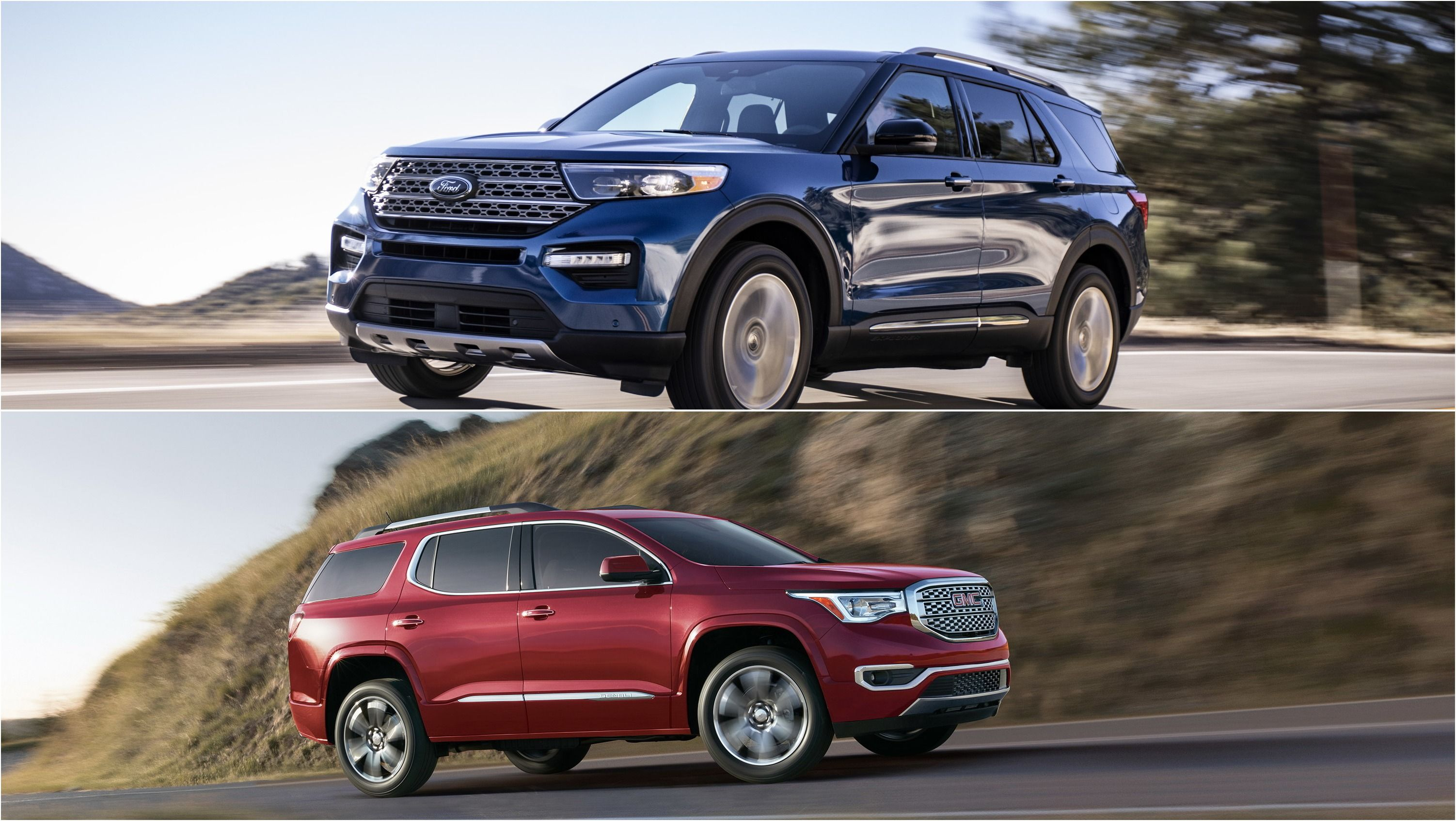 2020 Ford Explorer Vs 2019 Gmc Acadia How The Compare Ford