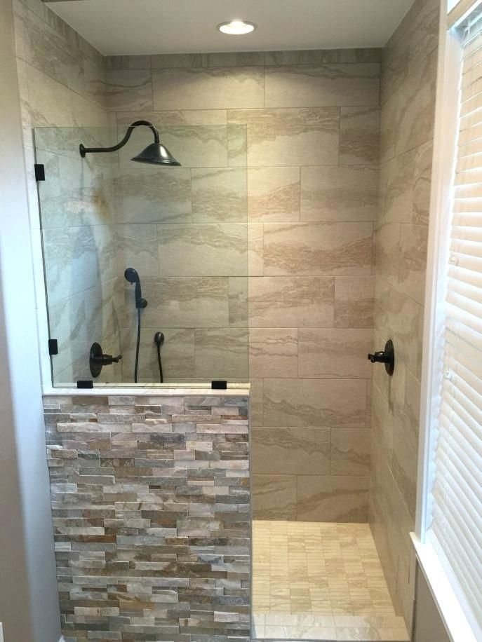 Bathroom Modern Walk In Shower Ideas With As For Elderly