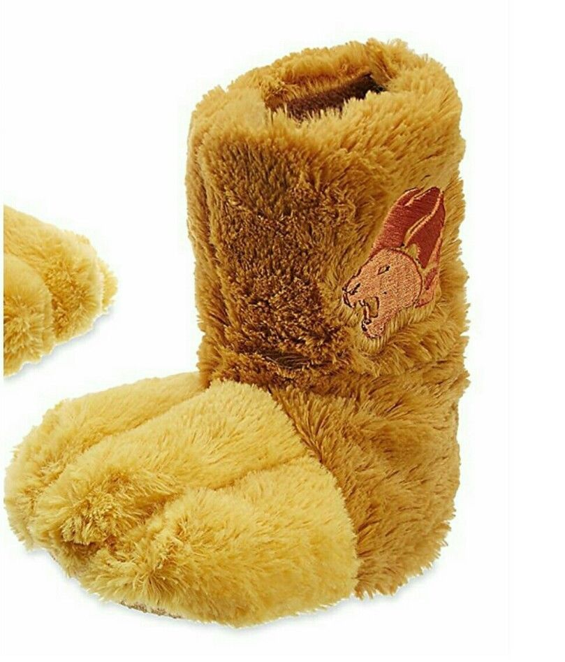 edf3166fb7a Disney Store The Lion King Guard Kion Plush Slipper Halloween Costume Shoes  7 8  DisneyStore  Slippers