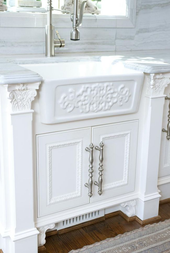 I Love the hardware sink and trim on the cabinets