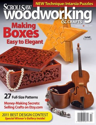 Scroll Saw Woodworking Crafts Magazine Wooden Boxes Scroll Saw