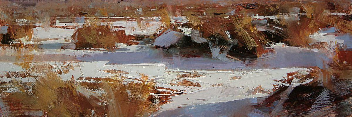 Contemporary landscape paintings artist tibor nagy fine