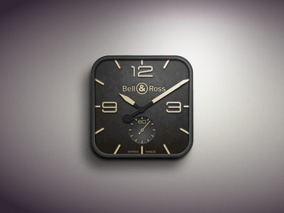 Clock Icon   Clock icon. Mobile app icon. Iphone icon