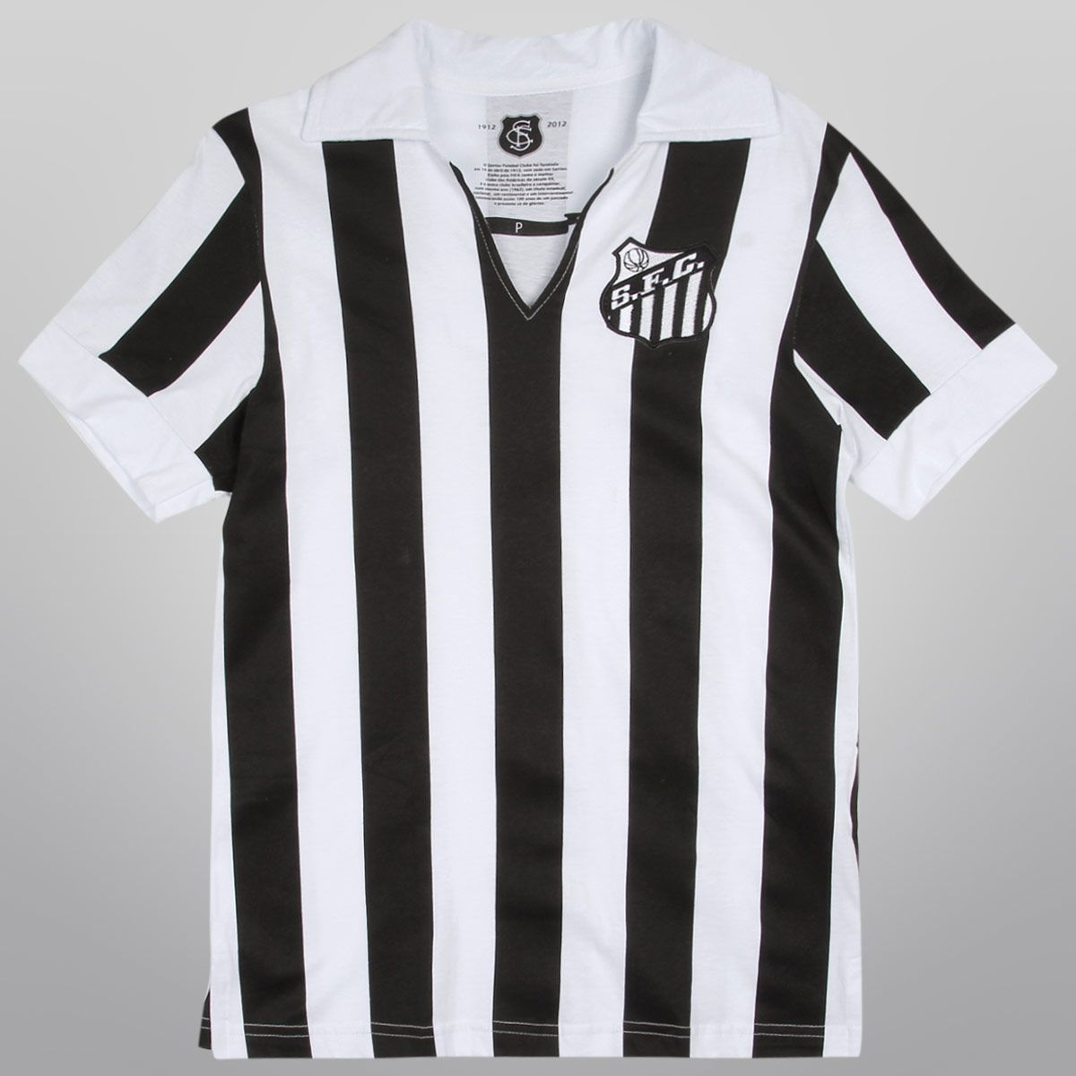 d025ec6943ba0 Camiseta Santos Retrô 1958 - Vila do Santos Pele Futebol