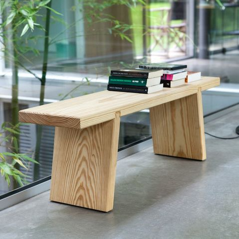 Serener Bench Wood Bench