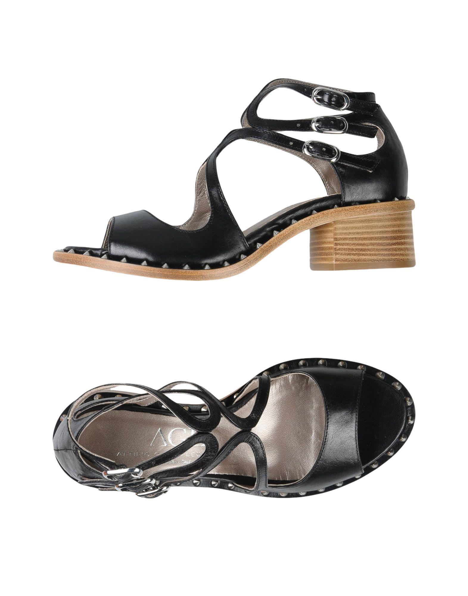 Attilio Giusti Leombruni 'Mirror' Silver Slingback Sandals sz: 38 / US 7.5 - 8