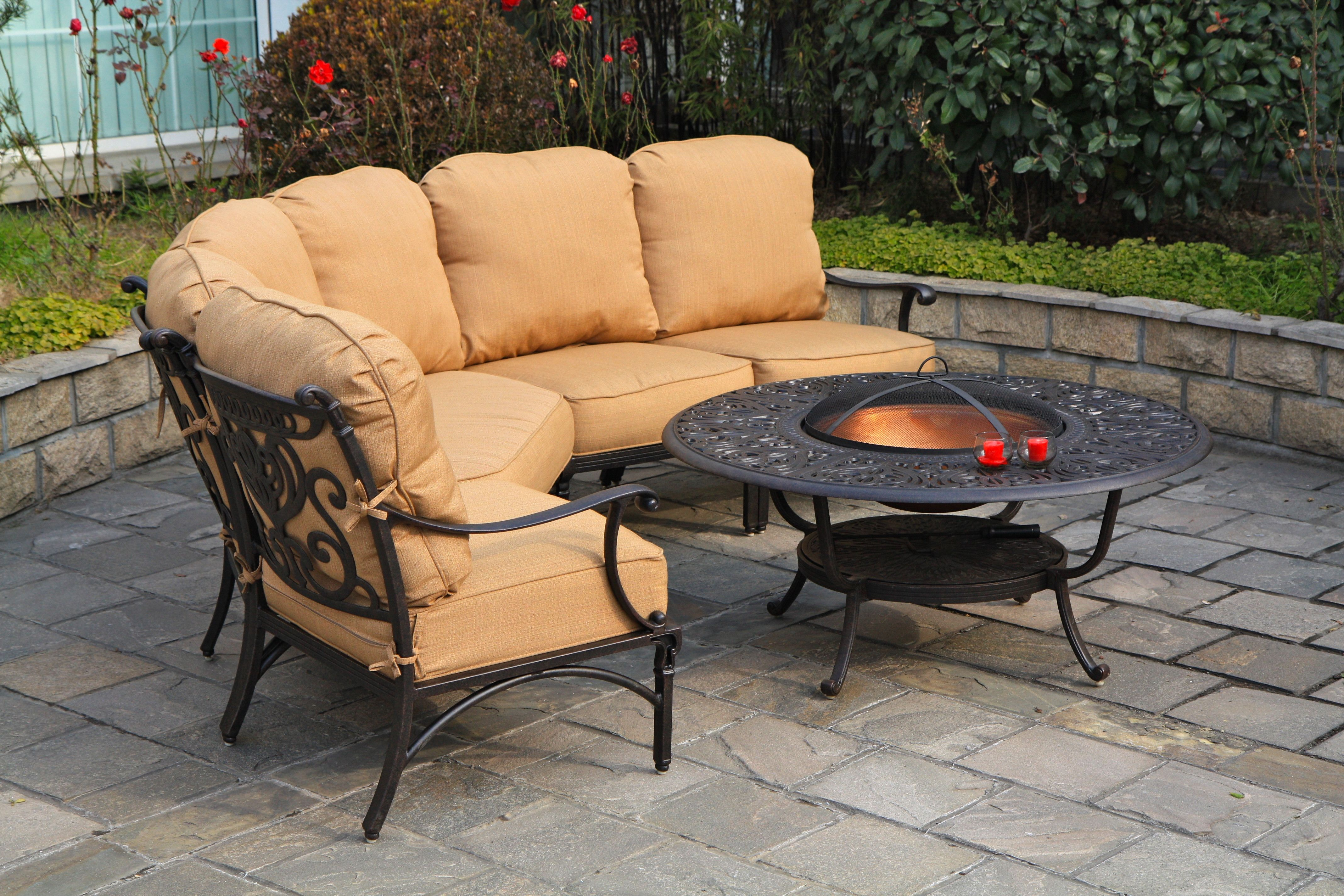 grand tuscany sectional patio set from hanamint available at stauffers rohrerstown and