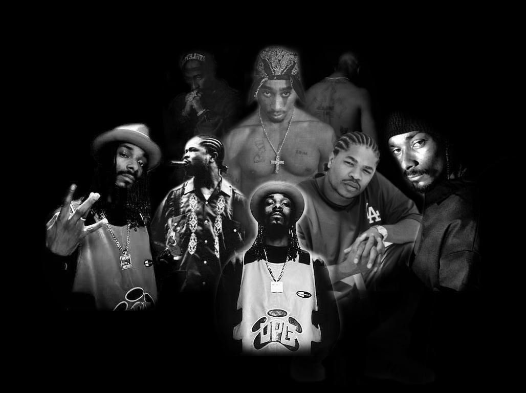 Rappers Screensaver Tupac background, Hip hop music