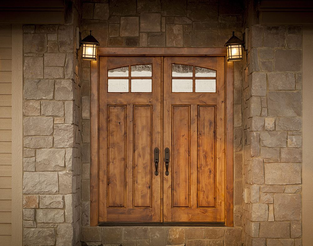Choosing A Rogue Valley Door Could Easily Be One Of The Best Decisions Made For A Home The Wood Doo Rogue Valley Doors Rustic Front Door Wooden Doors Interior