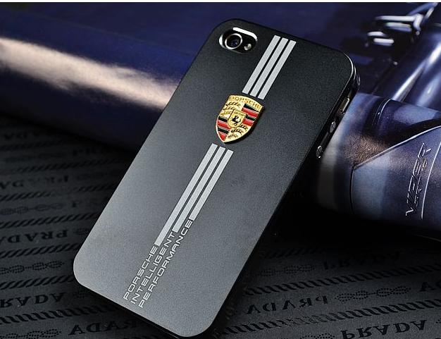 New Porsche Metal Shell 3d Hard Case For Iphone4 5 Iphone Case Covers Iphone 4 Porsche