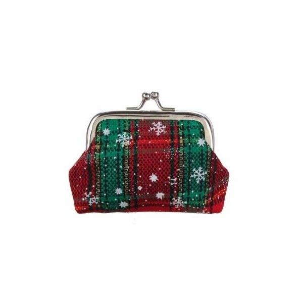 Women Christmas Mini Cover Wallet ($2.32) ❤ liked on Polyvore featuring bags, wallets, print wallets, striped wallet, pattern wallet, stripe bag and pattern bag