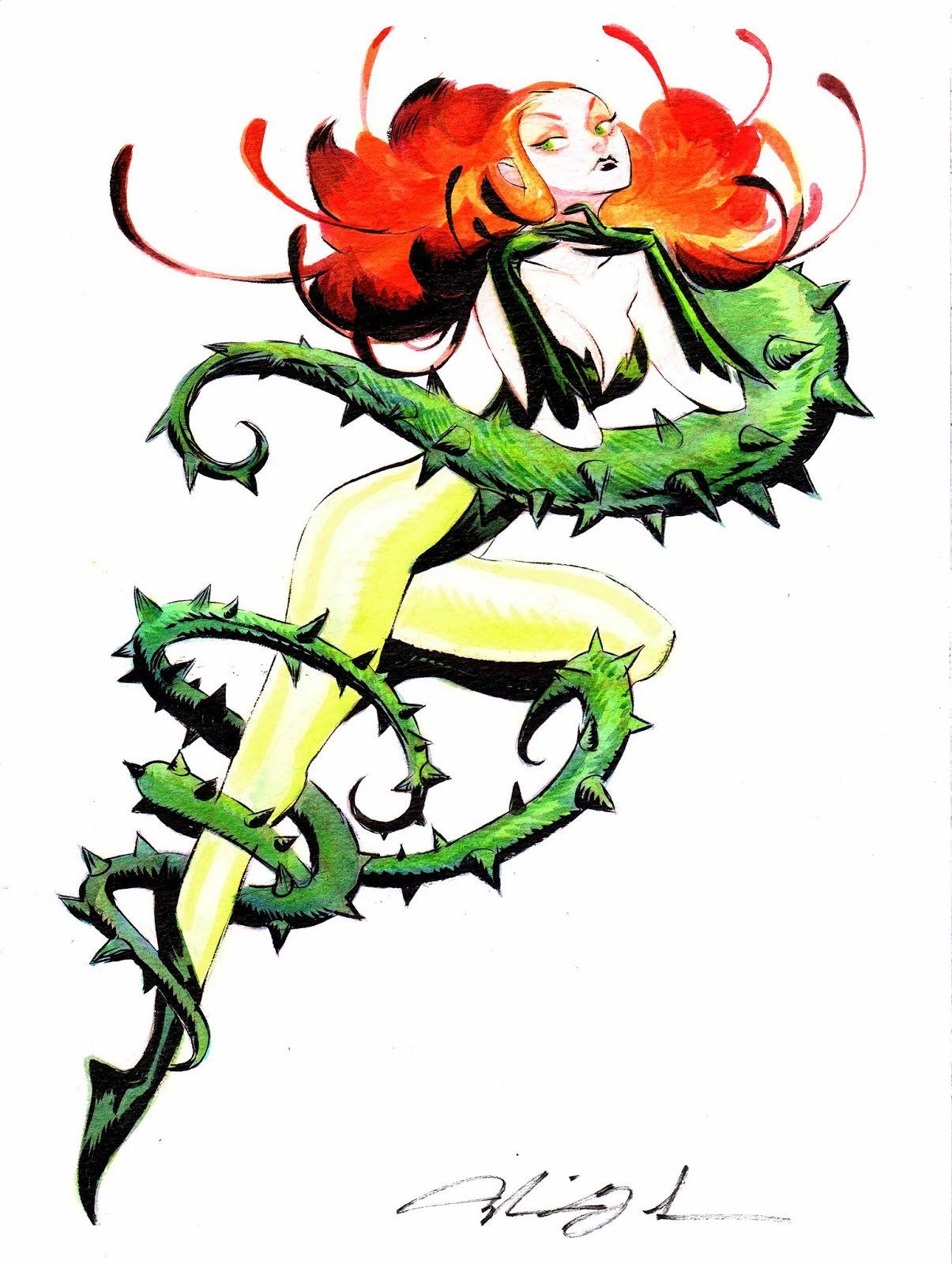 Image Result For Poison Ivy Villain Symbol Ink Dc Poison Ivy